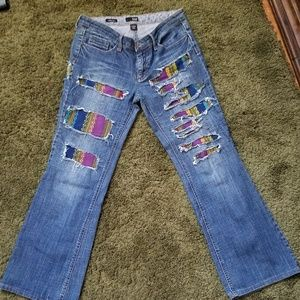 Boho Upcrafted a.n.a. Jean's size 8